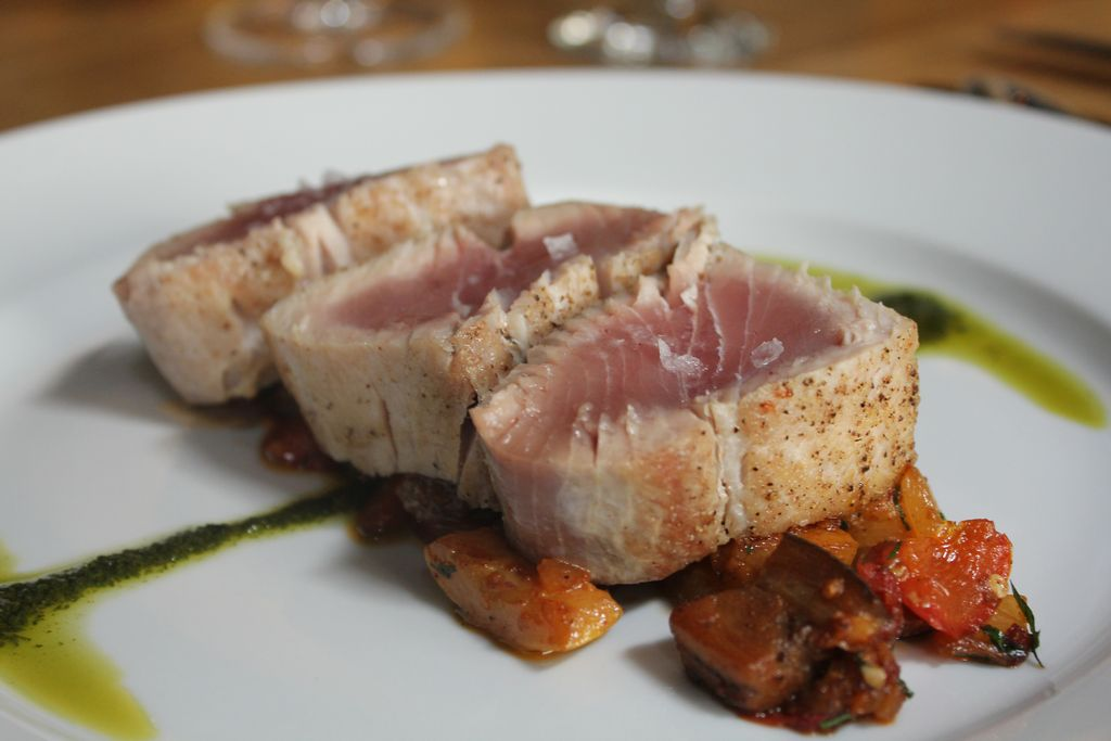 Seared Yellowtail Tuna